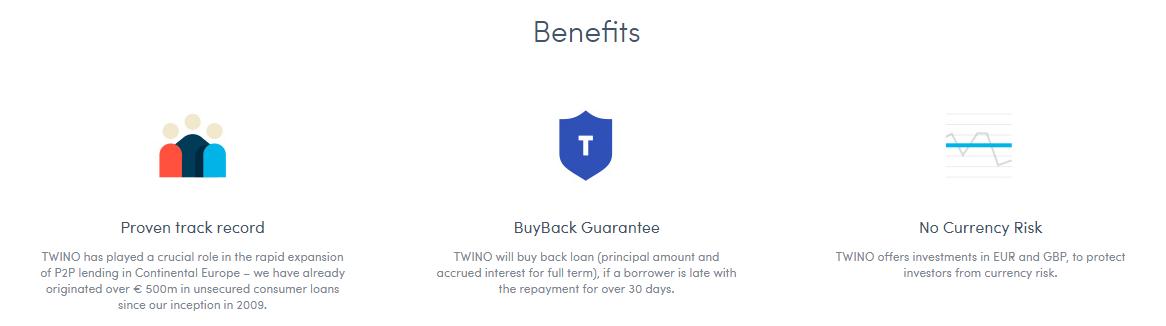 Twino benefits