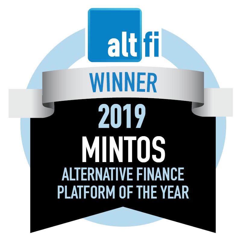 Minos Altfi Awards 2019 - Winner of Alternative finance platform of the year