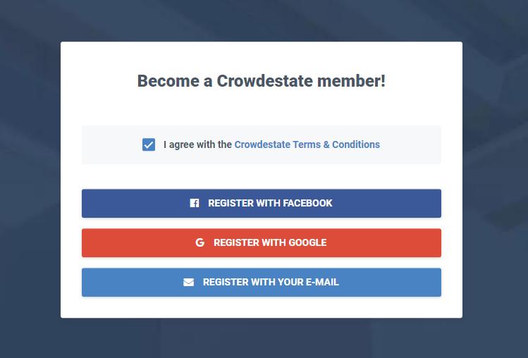 crowdestate registration