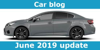 car blog june 2019 update