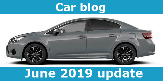 car blog june 2019 update