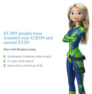 Bondora p2p stats