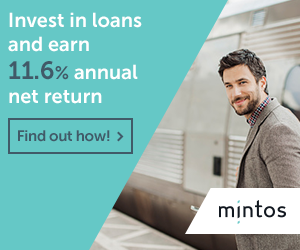 Mintos invest in loans and earn 11.6% annual net return