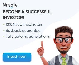 NibbleFinance become investor banner